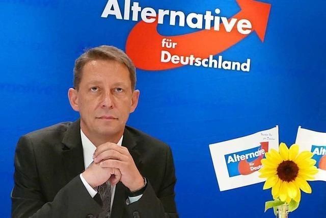 AfD-Landeschef Ralf Özkara will zurücktreten