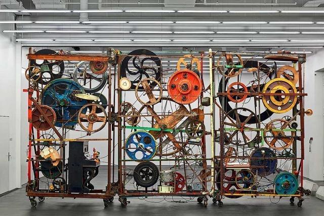 Ein Publikumsmagnet des Basler Tinguely Museums ist wieder da
