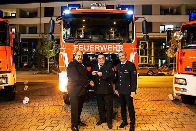 Rieselfelder Feuerwehr erhält neues Tanklöschfahrzeug für 266.000 Euro