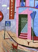 """Ausstellung """"Drawing in Peacetime"""" von J.R. Blank in der Galerie Turmstraße 14 in Lörrach"""