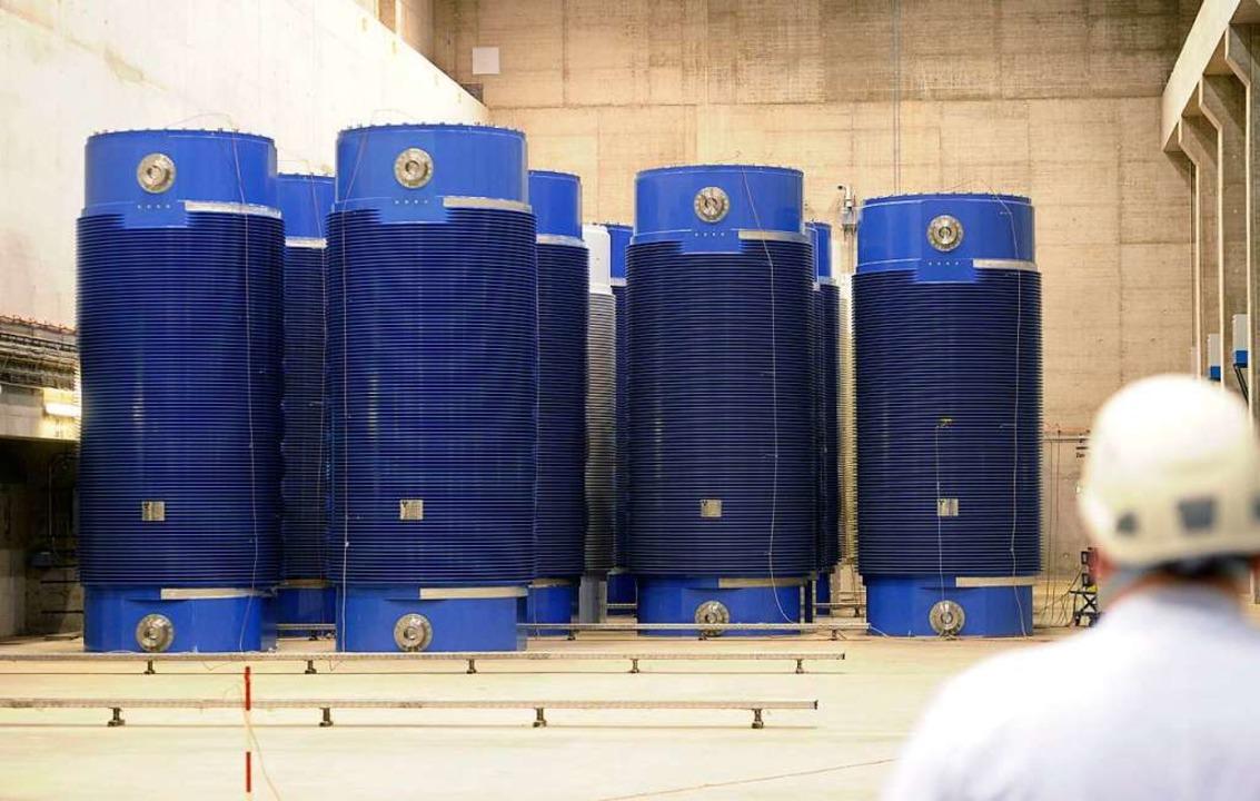 Wohin mit dem Atommüll?    Foto: dpa