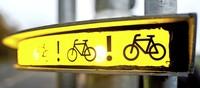 Neues Warnsystem soll Radfahrer im toten Winkel schützen