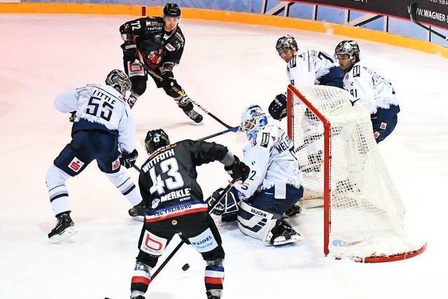 EHC Freiburg verliert Heimspiel gegen die Kassel Huskies mit 0:1