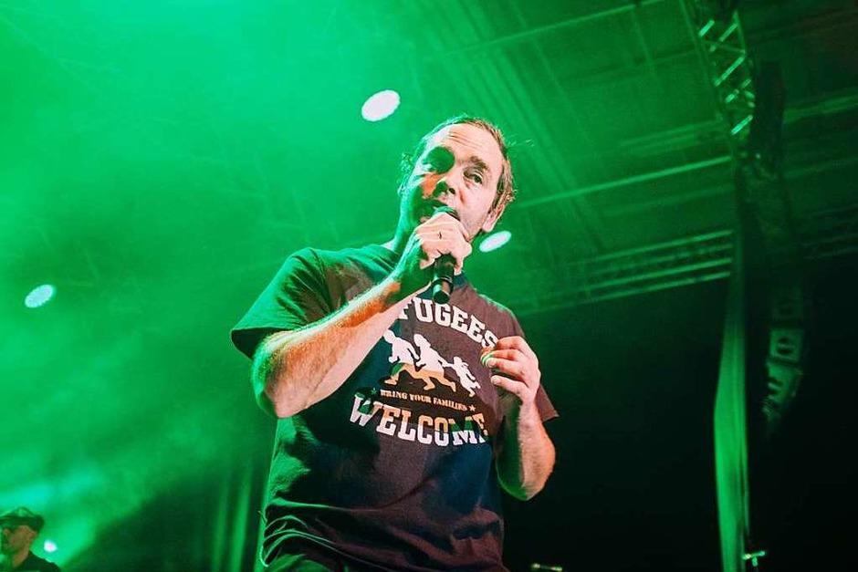 """Bosse tourt gerade mit seinem Album """"Alles ist jetzt"""" durch Clubs, am Samstag machte er in Freiburg halt. (Foto: Fabio Smitka)"""