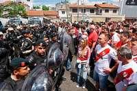 Schwere Ausschreitungen rund um Copa Libertadores in Buenos Aires