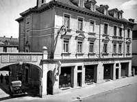 In der Talstraße in Freiburg befand sich einst ein Mercedes-Autohaus
