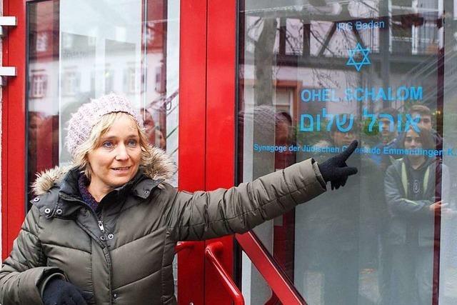 Zischup-Aktionstag im jüdischen Museum und in der Synagoge in Emmendingen