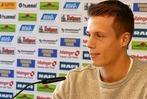 Zisch-Pressekonferenz beim SC Freiburg mit Torwart Alexander Schwolow