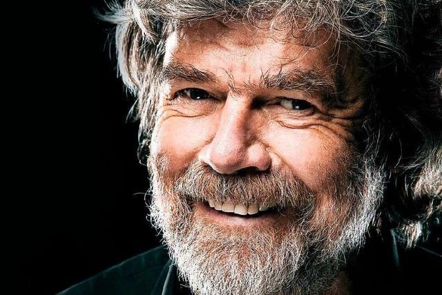 Tickets zu gewinnen für Reinhold Messners bildgewaltiger Livevortrag über Weltberge am 16. Februar in Offenburg