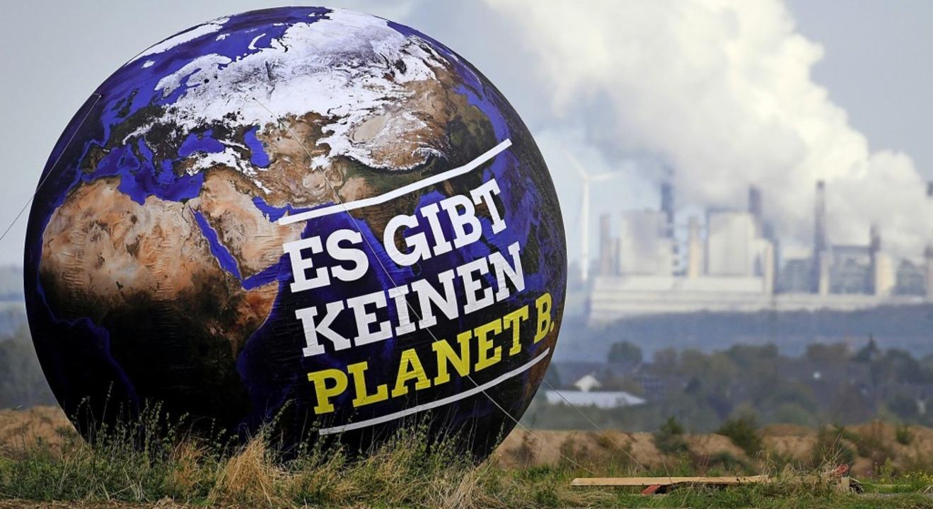 Die Zeit, um den Planeten zu retten, wird knapp, warnen Klimaschutzexperten.  | Foto:  DPA
