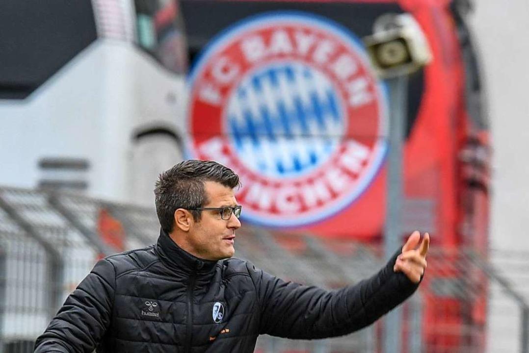 SC-Trainer Jens Scheuer verlässt Freib...aisonende – in Richtung München?    Foto: Patrick Seeger