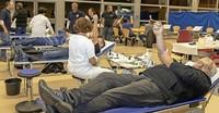 160 Spendenwillige, 151 Blutkonserven, sechs Erstspender