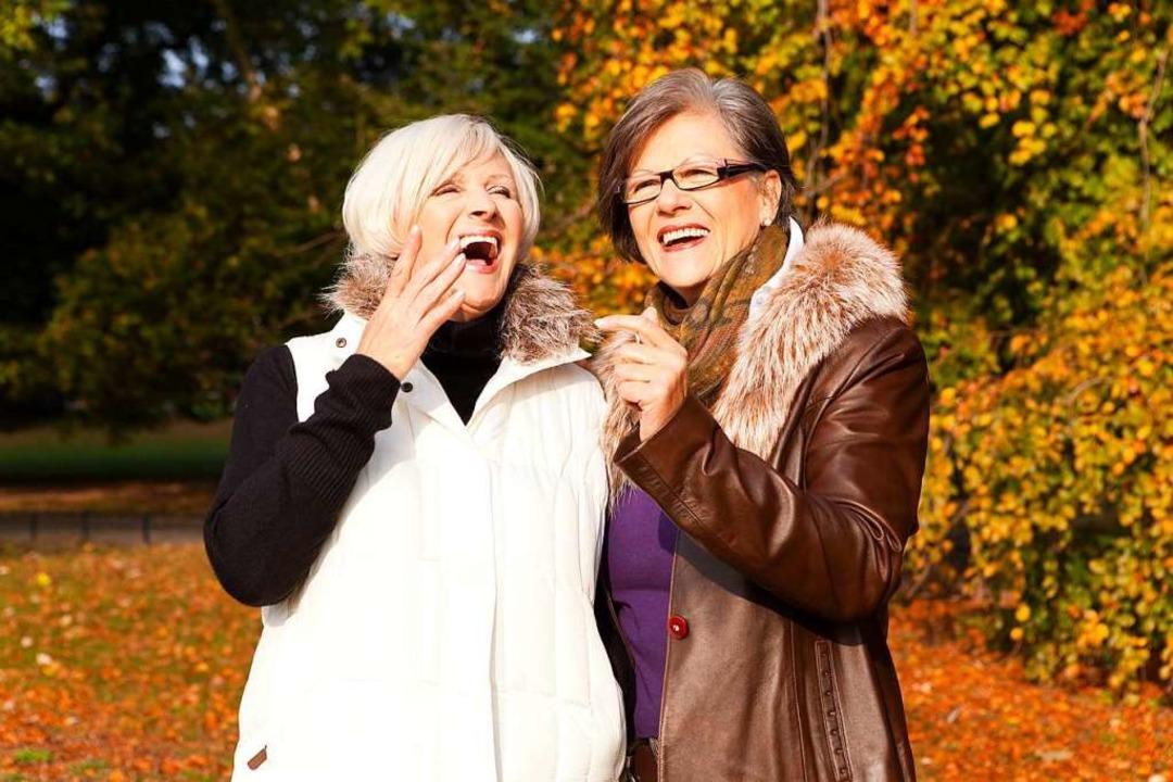 Lebensfreude kann man auch im Alter haben.  | Foto: drubig-photo - stock.adobe.com