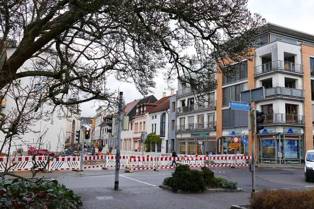 Das Geld für den Umbau des Aicheleknot...in den Lörracher Haushalt eingestellt.  | Foto: Sabine Ehrentreich