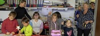 """Auch Kinder beteiligen sich an der """"Sterne-Aktion"""""""
