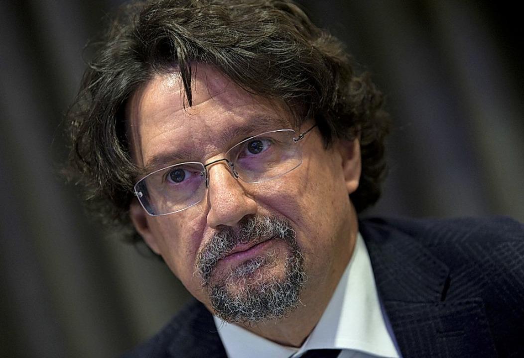 Staatsanwalt Giovanni Bombardieri war einer der Köpfe der europaweiten Razzia.     Foto: dpa