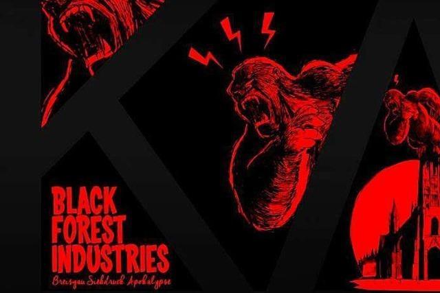 Breisgau Siebdruck Apokalypse: Hilda 5 zeigt am Sonntag Siebdruck Bandposter