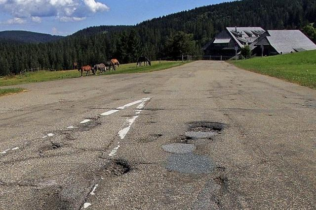 Hohe Straßen bedeuten hohe Kosten – werden aber nicht extra bezuschusst