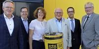 Rekord: Rudolf Stoll feiert 50-Jähriges bei Sto