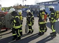 Arbeitsplatz mit eigener Feuerwehr