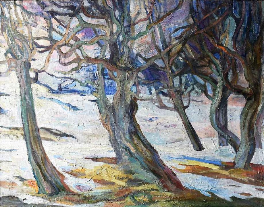"Irina Lozinskaia: ""Schauinsland Bäume""  | Foto: Galerie"