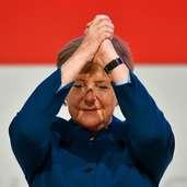 Ohne Pathos, aber doch mit Gefühl: Wie Angela Merkel sich als CDU-Chefin verabschiedete