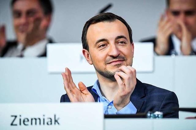 Jung, konservativ und wortgewandt: CDU-Generalsekretär Paul Ziemiak