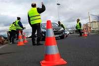 """Der Protest der """"Gelbwesten"""" geht auch im Elsass in die vierte Runde"""