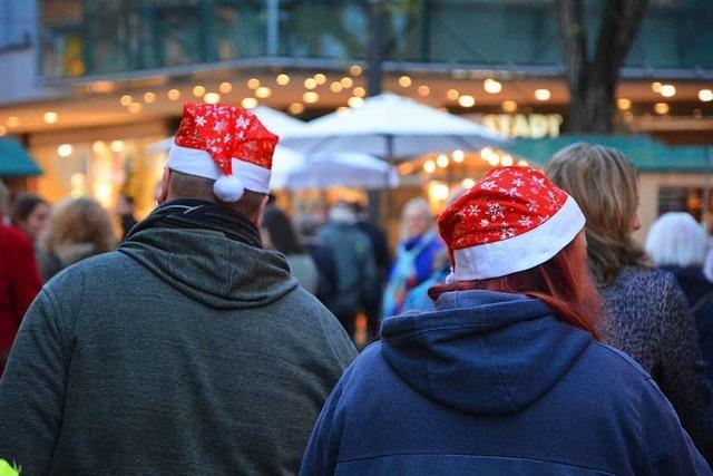 Weihnachtsmarkt Lörrach bietet Selbstgemachtes mit Herz und Seele