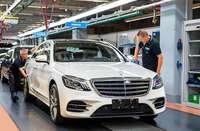 Zu Gast bei Mercedes-Benz