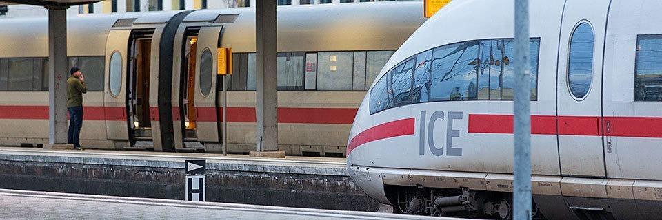 Der Bahnverkehr im Südwesten ist stark vom Warnstreik betroffen