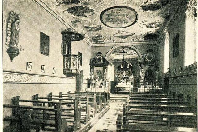 Die St.-Ottilien-Kapelle erinnert an die Heilung einer Blinden