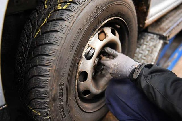 Autoreifen in Binzen und Eimeldingen gestohlen