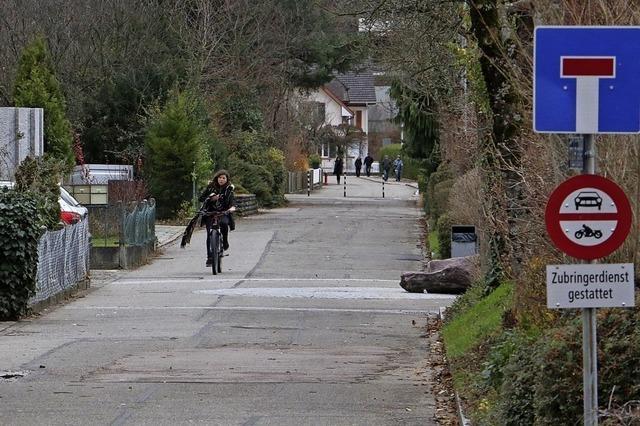 Ein Dämpfer für die Fahrradstraße
