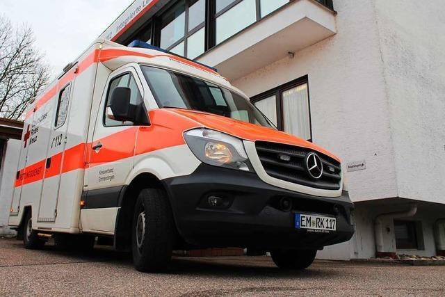 Offene Stellen und mehr Notrufe fordern das Rote Kreuz Emmendingen heraus