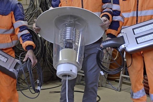 Jede zweite Ettenheimer Straßenleuchte mit LED-Technik