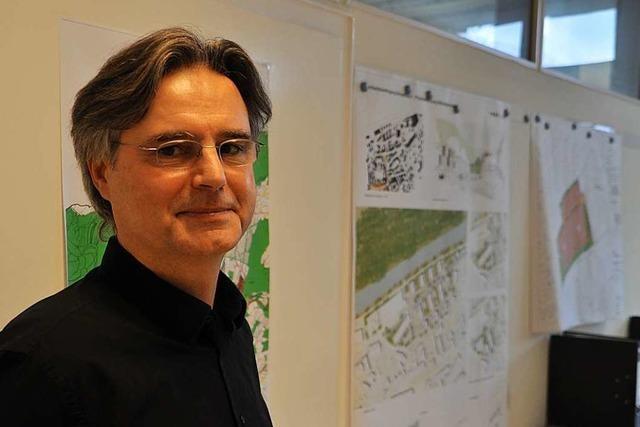 Das Bauamt in Schopfheim hat dank Peter Egi eine Baustelle weniger