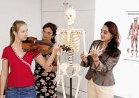 Der Bewegungsapparat beim Musizieren
