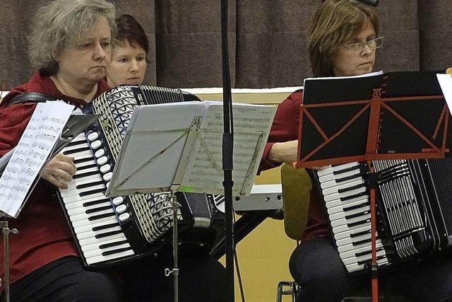 Akkordeonmusik im Advent