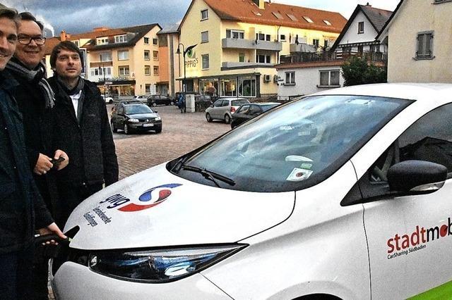 Ein Elektroauto zum Ausleihen