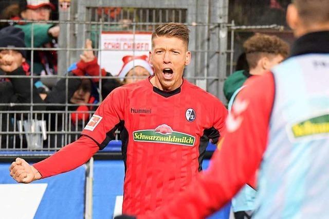 Mike Frantz hat wieder die Form, die ihn für den SC Freiburg so wertvoll macht