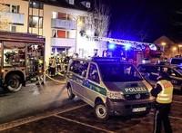 Ein Feuer, Verletzte und Festnahmen im Ankerzentrum