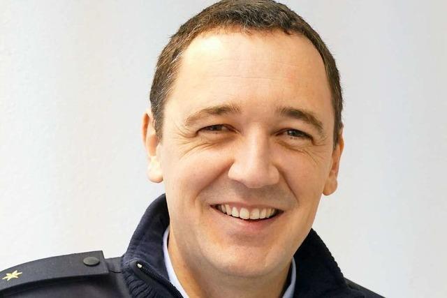 Kommissar Thomas Müller wechselt von Weil ins Polizeirevier Müllheim