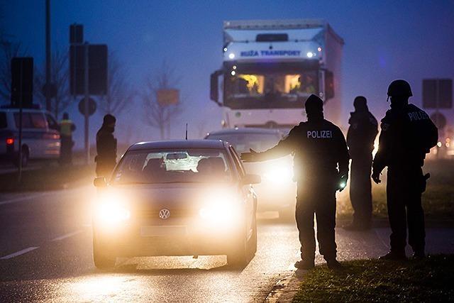 Bundespolizei kontrolliert Grenze zu Frankreich - lange Wartezeiten