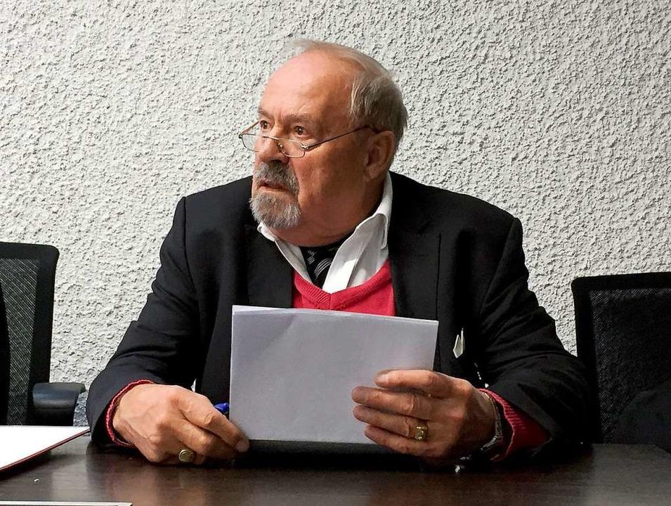 Hans Ahlfeld, der Kläger  | Foto: dpa