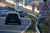 Straßensperre für den Bau der Dreiländergalerie: Ampel muss im Fall den Rettungsverkehr regeln