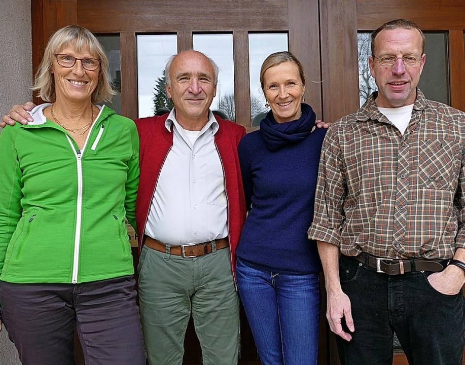 Ein eingespieltes Team (von links): Be..., Carmen Walker und Wendelin Schuler.   | Foto: Tanja Bury