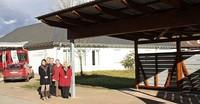 Neuer Carport für Caritas