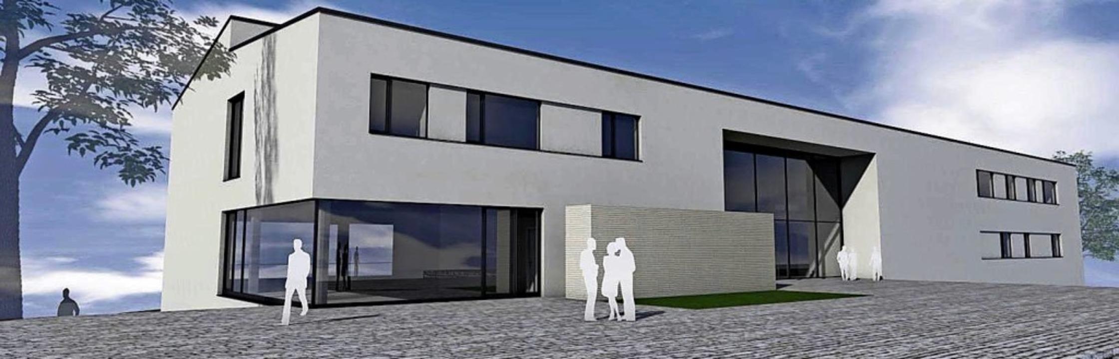 So soll der Erweiterungsbau für die Gemeinschaftsschule Hohberg aussehen.   | Foto: Animation: Kopf Architekten