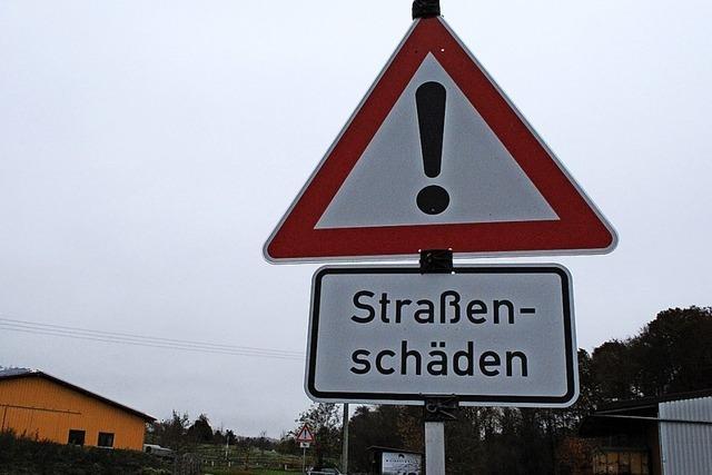 Rickenbacher Räten ist Straßensanierung zu teuer